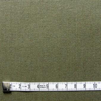 コットン×無地(カーキグリーン)×10号帆布 サムネイル4