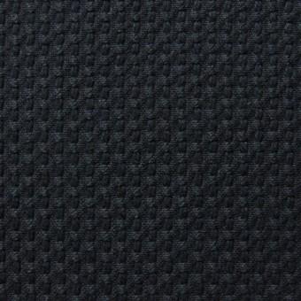 コットン×無地(ブラック)×刺し子 サムネイル1