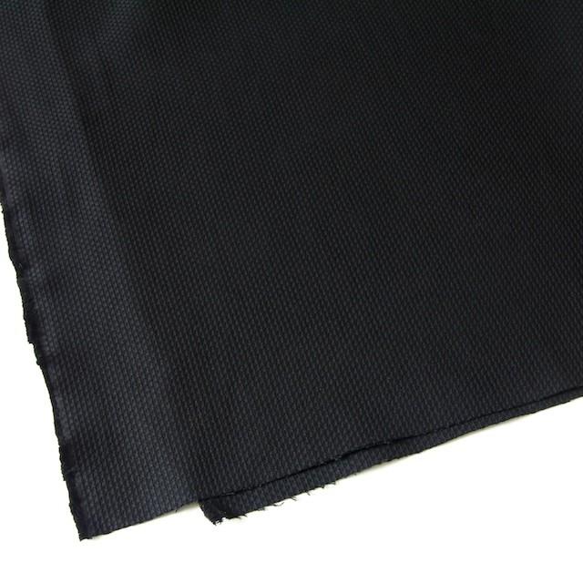 コットン×無地(ブラック)×刺し子 イメージ2