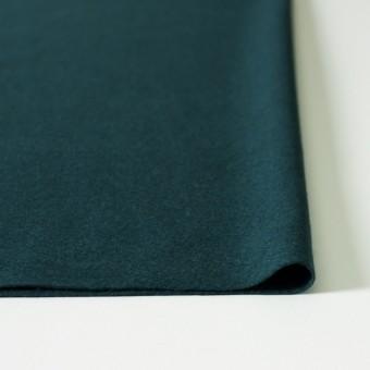ウール×無地(ダークグリーン)×圧縮天竺ニット_全2色 サムネイル3