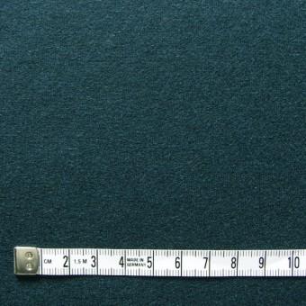ウール×無地(ダークグリーン)×圧縮天竺ニット_全2色 サムネイル4