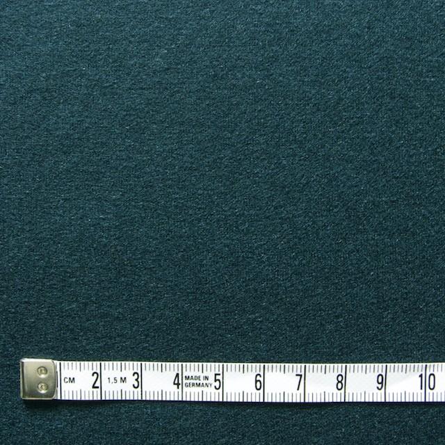 ウール×無地(ダークグリーン)×圧縮天竺ニット_全2色 イメージ4