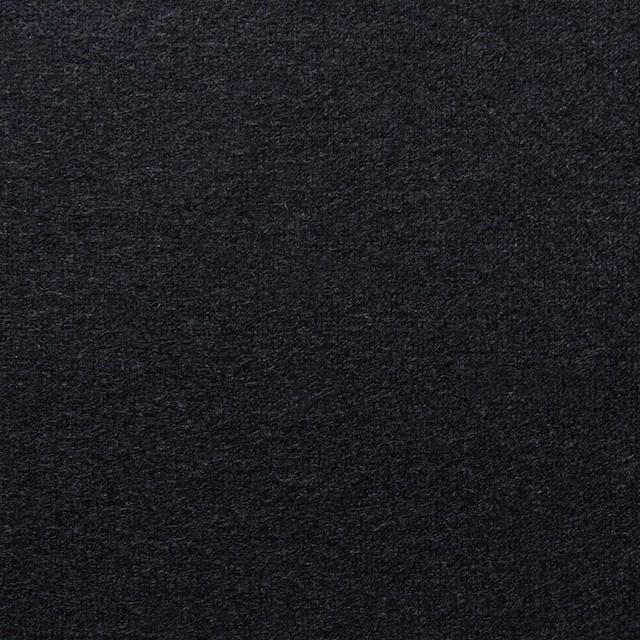 ウール×無地(ブラック)×圧縮天竺ニット_全2色 イメージ1