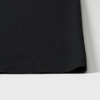 ウール×無地(ブラック)×圧縮天竺ニット_全2色 サムネイル3