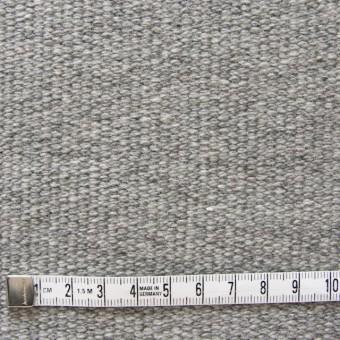 ウール×無地(グレー)×かわり織 サムネイル4