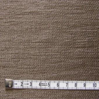 ウール&レーヨン&ナイロン×無地(ブロンズ&ブラウン)×かさね織 サムネイル4