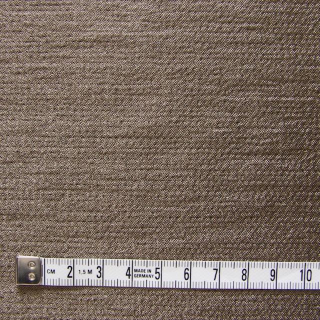 ウール&レーヨン&ナイロン×無地(ブロンズ&ブラウン)×かさね織 イメージ4