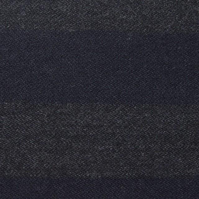ウール×ボーダー(グレー&ネイビー)×アムンゼン イメージ1