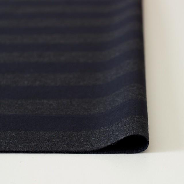 ウール×ボーダー(グレー&ネイビー)×アムンゼン イメージ3