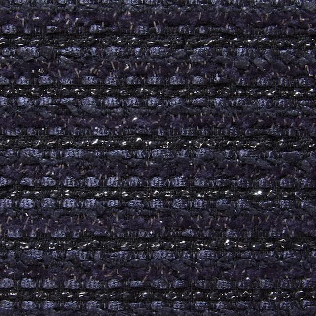 ウール&ナイロン×ミックス(パープル&ネイビー)×ファンシーツイード イメージ1