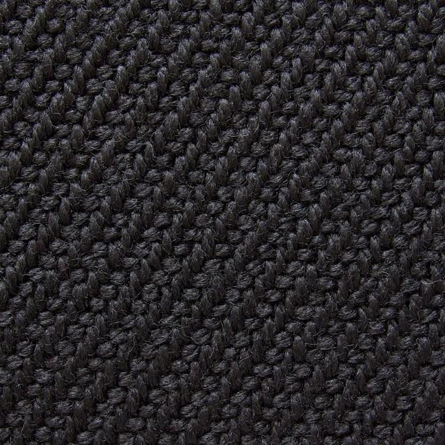 ウール×無地(ブラック)×厚カルゼ イメージ1