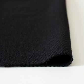 ウール×無地(ブラック)×厚カルゼ サムネイル3