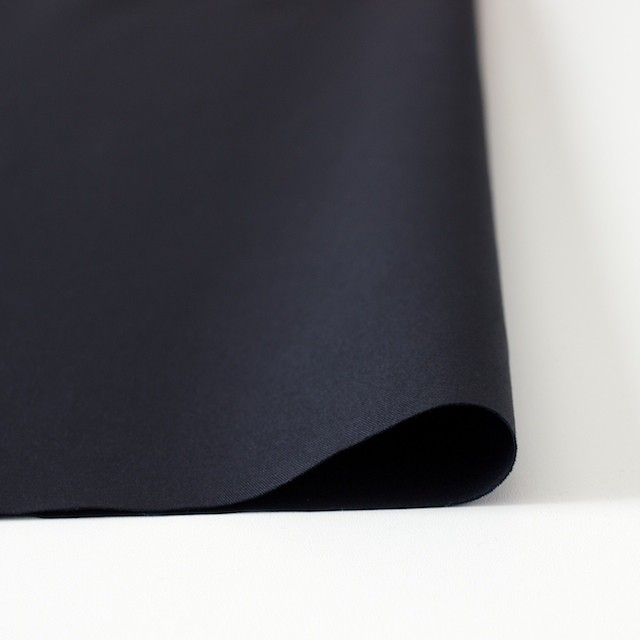 コットン&リネン×無地(ブラックネイビー)×ギャバジン_全3色 イメージ3