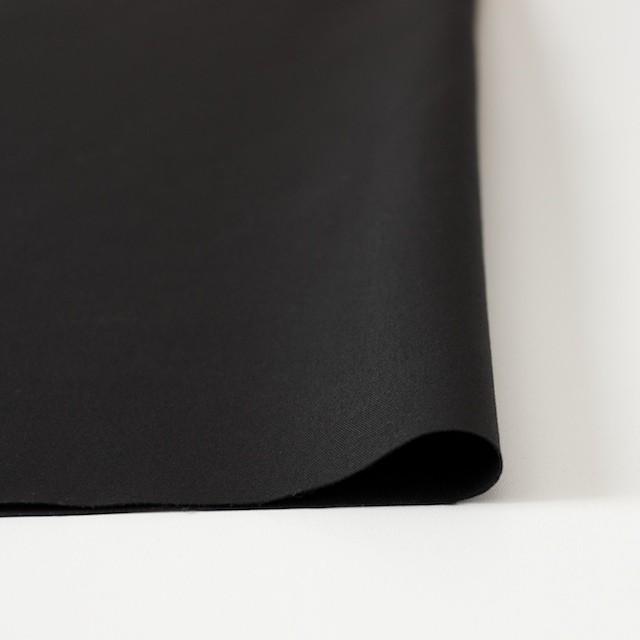 コットン&リネン×無地(ブラック)×ギャバジン_全3色 イメージ3