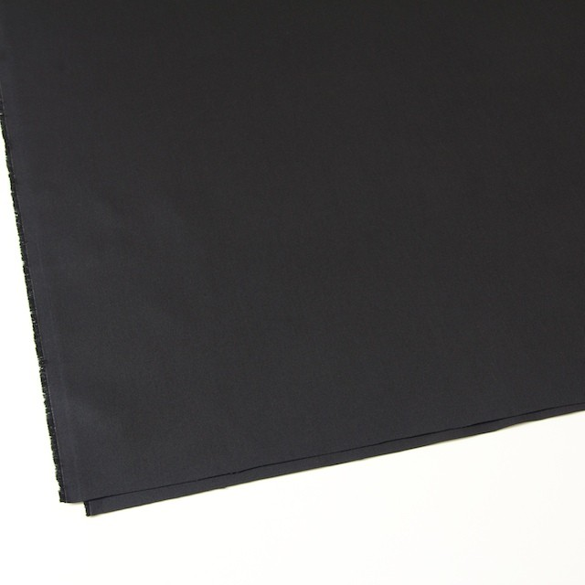 コットン×無地(ブラック)×ギャバジン_全2色 イメージ2
