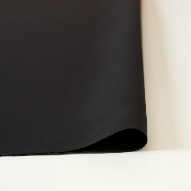 コットン×無地(ブラック)×ギャバジン_全2色 イメージ3