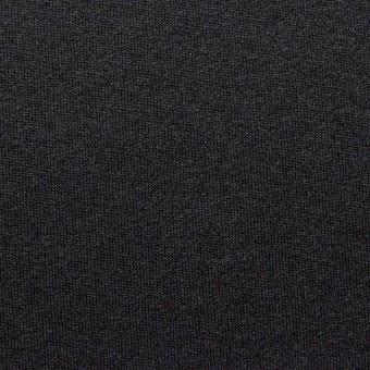 ウール&ポリエステル×無地(ブラック)×天竺ニット サムネイル1