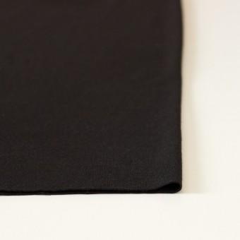 ウール&ポリエステル×無地(ブラック)×天竺ニット サムネイル3