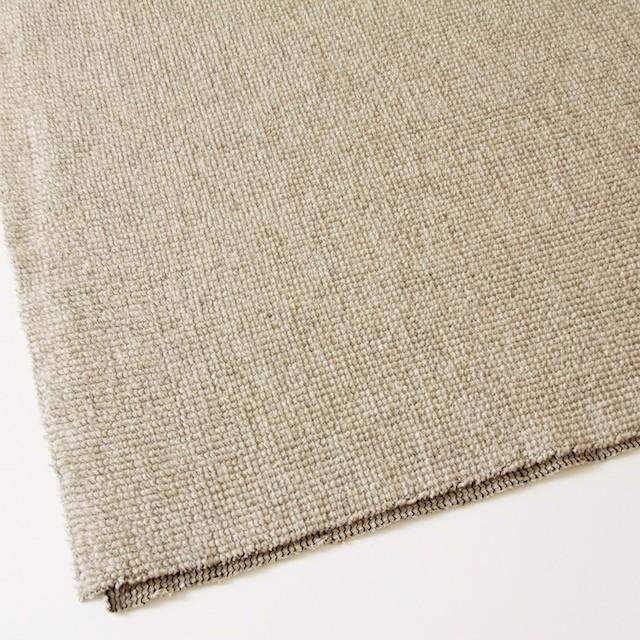 ウール×無地(ベージュ)×かわり織り_イタリア製 イメージ2