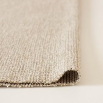 ウール×無地(ベージュ)×かわり織り_イタリア製 サムネイル3