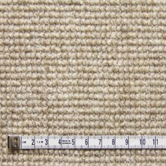 ウール×無地(ベージュ)×かわり織り_イタリア製 サムネイル4