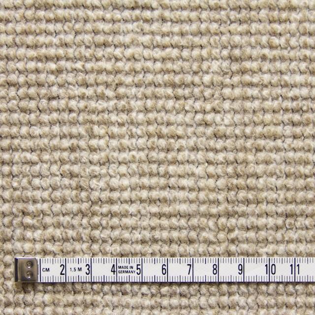 ウール×無地(ベージュ)×かわり織り_イタリア製 イメージ4