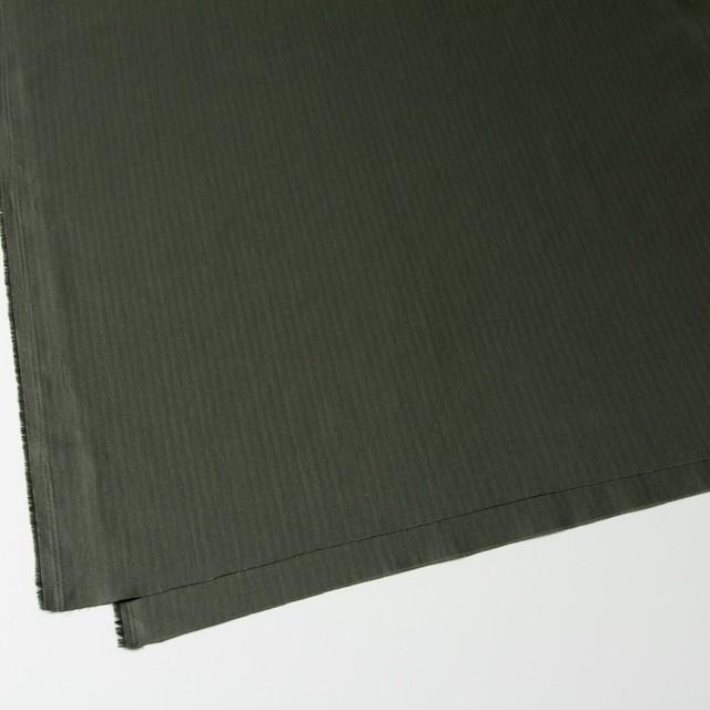 コットン×無地(カーキグリーン)×ヘリンボーン_全5色 イメージ2