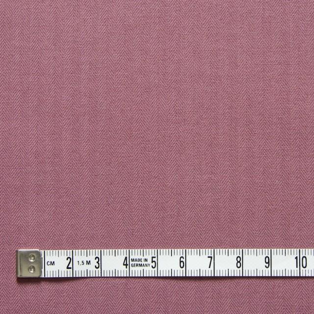 コットン×無地(グレイッシュピンク)×ヘリンボーン_全5色 イメージ4