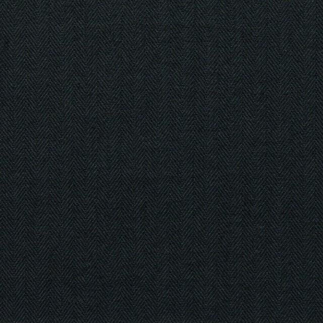 コットン×無地(ブラック)×ヘリンボーン_全5色 イメージ1