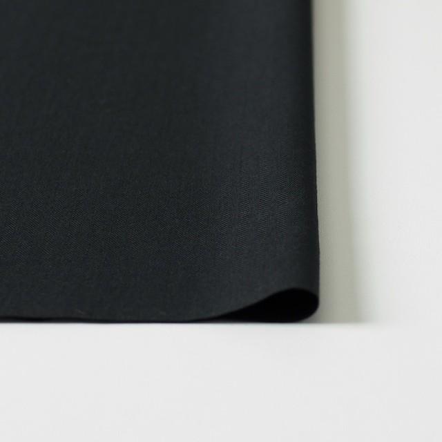コットン×無地(ブラック)×ヘリンボーン_全5色 イメージ3