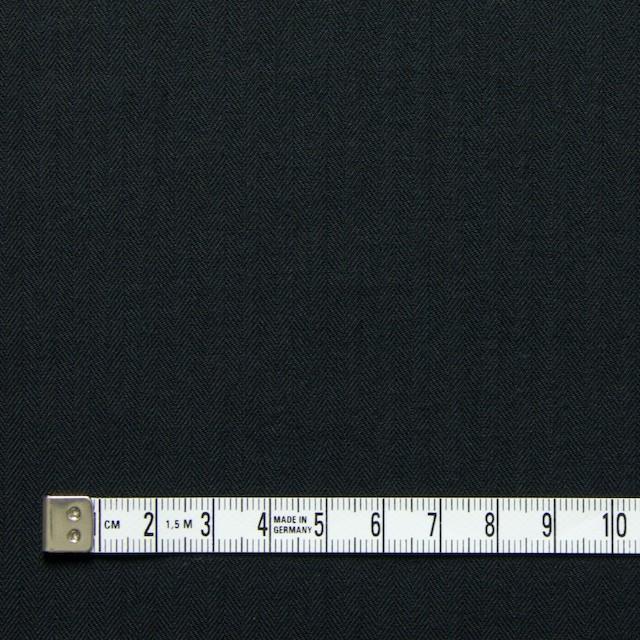 コットン×無地(ブラック)×ヘリンボーン_全5色 イメージ4