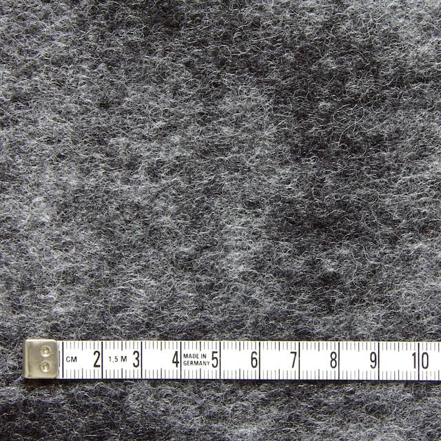 ウール&ポリエステル×グレーミックス×圧縮ニット イメージ4