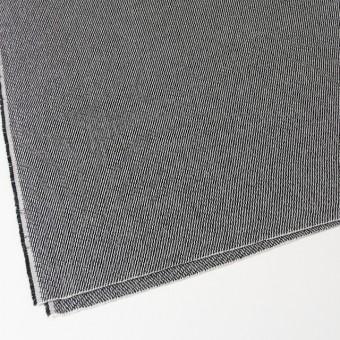 コットン&ポリエステル×斜め縞(ブラック&ブラック)×かわり織_全2色 サムネイル2