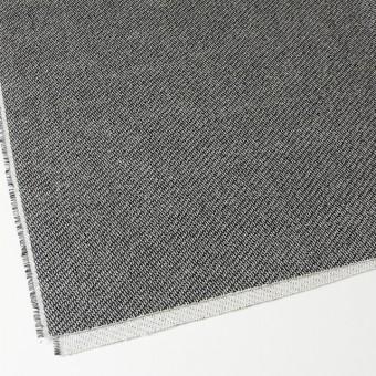 コットン&ポリエステル×斜め縞(ブラック&ホワイト)×かわり織_全2色 サムネイル2