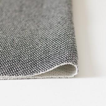 コットン&ポリエステル×斜め縞(ブラック&ホワイト)×かわり織_全2色 サムネイル3