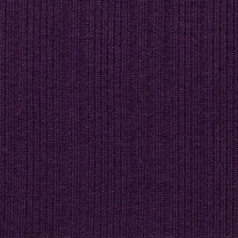 コットン&モダール×無地(パープル)×模様編ニット_全2色 サムネイル1