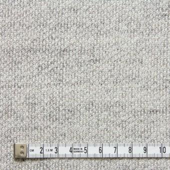コットン×無地(ライトグレー)×裏毛丸編みニット サムネイル4