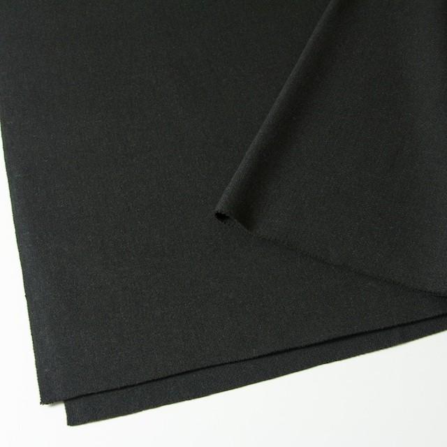ウール×無地(チャコールグレー)×二重織 イメージ2