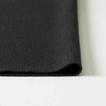 ウール×無地(チャコールグレー)×二重織 サムネイル3