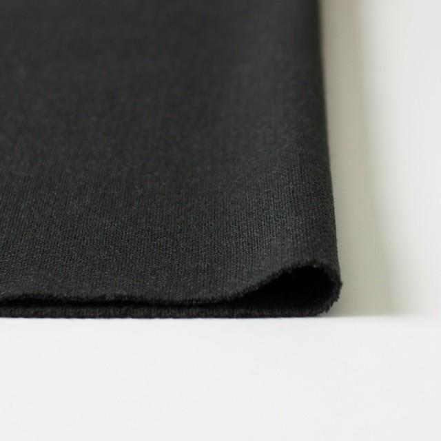 ウール×無地(チャコールグレー)×二重織 イメージ3