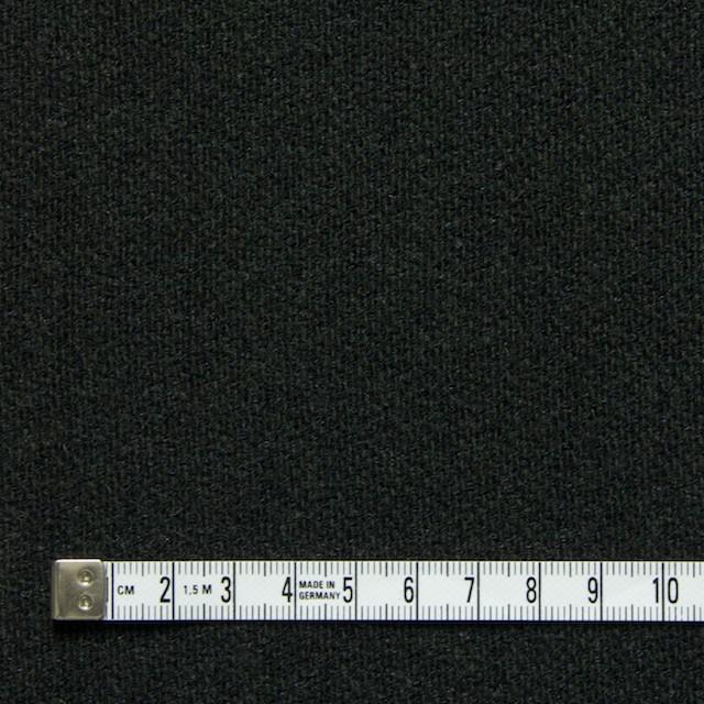 ウール×無地(チャコールグレー)×二重織 イメージ4