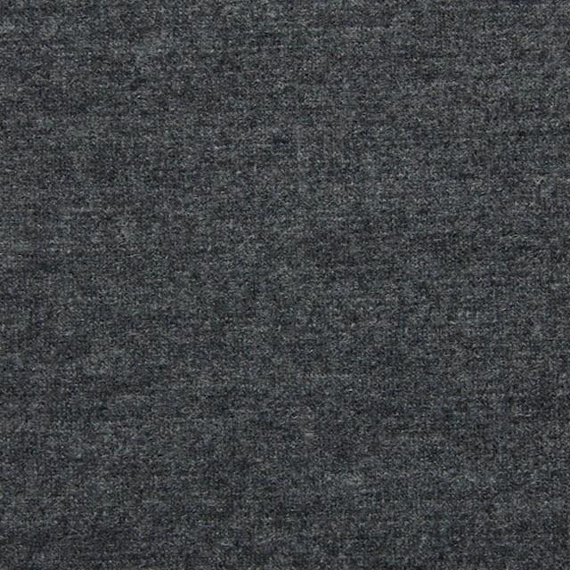 ウール×無地(グレー)×圧縮Wニット イメージ1