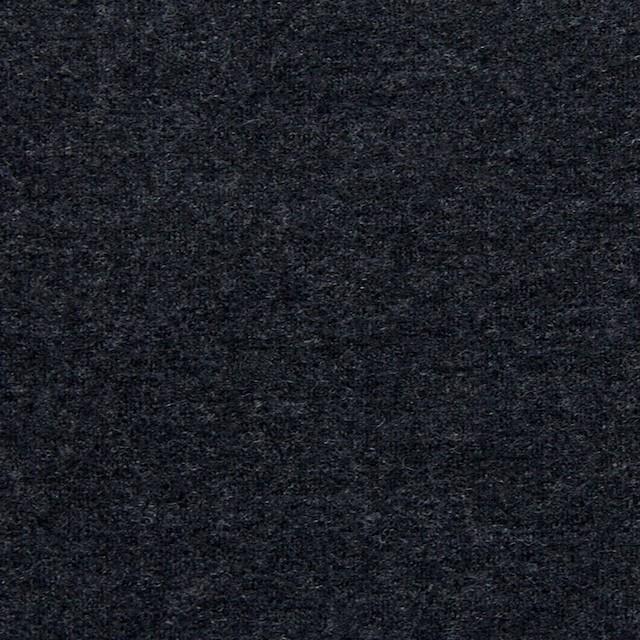 ウール×無地(チャコールグレー)×W圧縮ニット イメージ1