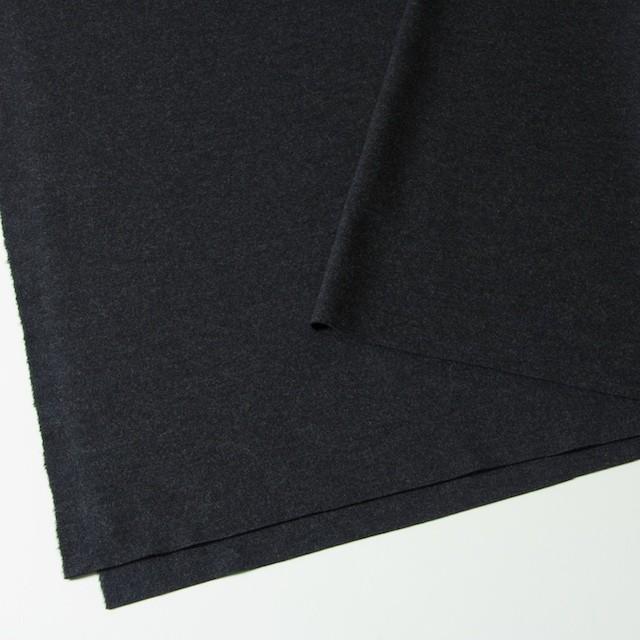 ウール×無地(チャコールグレー)×W圧縮ニット イメージ2