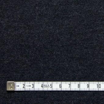 ウール×無地(チャコールグレー)×W圧縮ニット サムネイル4