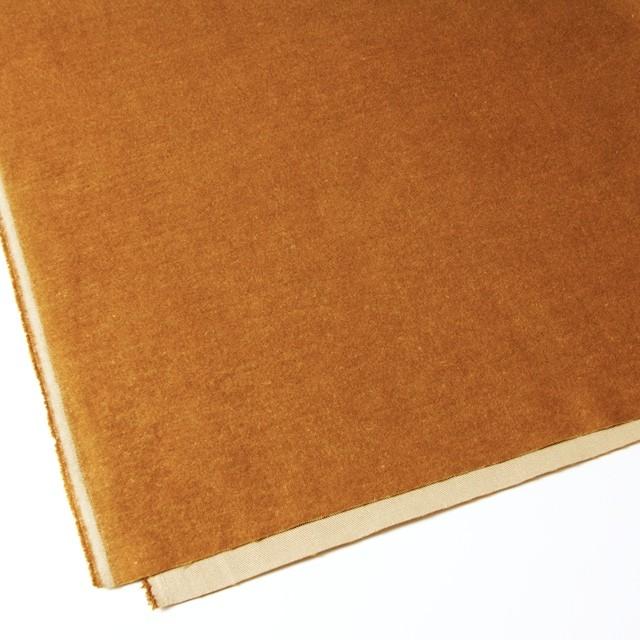 ポリエステル&コットン×無地(キャメル×ベージュ)×ビエラ・リバーシブル_全4色 イメージ2