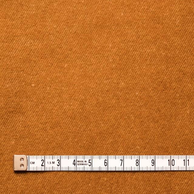 ポリエステル&コットン×無地(キャメル×ベージュ)×ビエラ・リバーシブル_全4色 イメージ4
