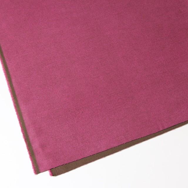 ポリエステル&コットン×無地(ピンク×ブラウン)×ビエラ・リバーシブル_全4色 イメージ2