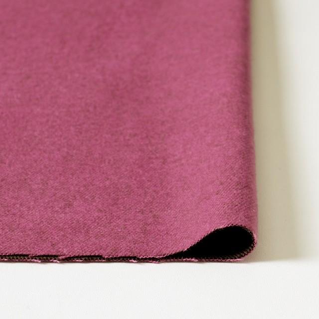 ポリエステル&コットン×無地(ピンク×ブラウン)×ビエラ・リバーシブル_全4色 イメージ3
