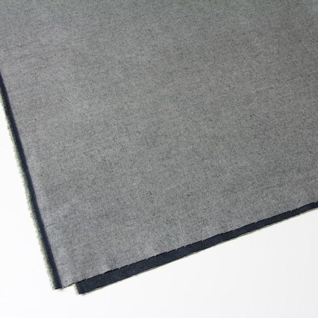 ポリエステル&コットン×無地(グレー×ブラック)×ビエラ・リバーシブル_全4色 イメージ2